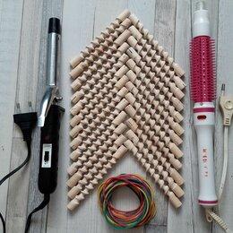 Щипцы, плойки и выпрямители - Плойка для волос, терморасческа, бигуди, 0