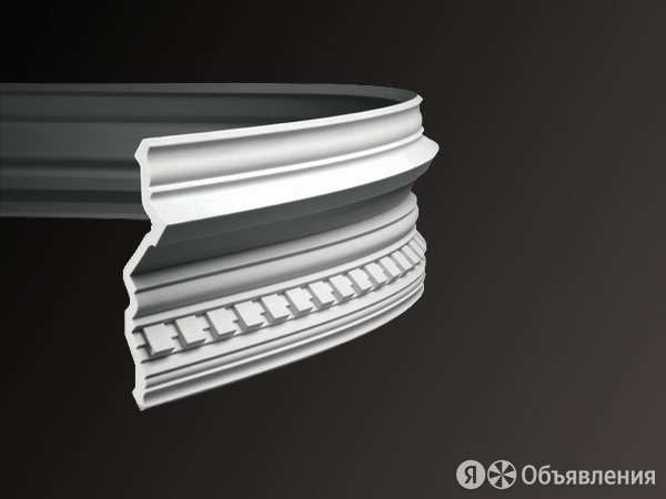 Интерьерный карниз гибкий Европласт 1.50.110 по цене 5068₽ - Уголки, кронштейны, держатели, фото 0