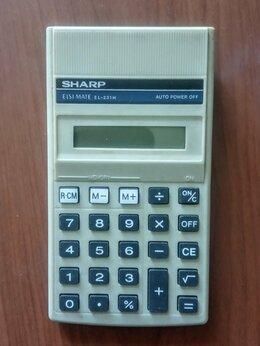 Калькуляторы - Калькулятор sharp, 0