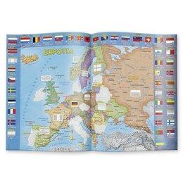 Скрапбукинг - Страны и флаги. Атлас мира с наклейками, 0
