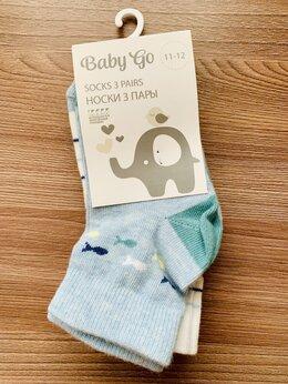 Носки - Носки детские новые Baby go р.11-12, 0