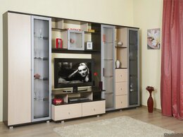 Шкафы, стенки, гарнитуры - Гостиная Эллада 1, 0