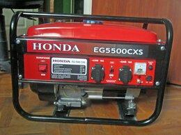 Электрогенераторы - Миниэлектростанция HONDA EG5500CXS, 0