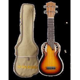 Укулеле - Suzuki SRUK-1 SB укулеле Сопрано, чехол в…, 0