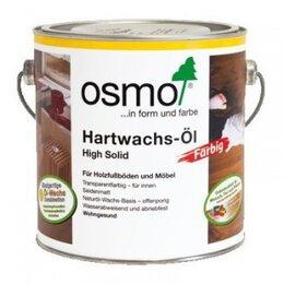 Масла и воск - Масло Osmo Hartwachs-Ol Farbig с твердым воском…, 0