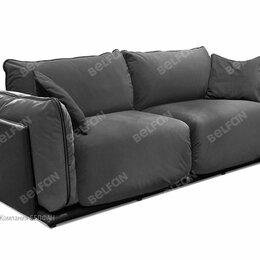 """Диваны и кушетки - """"Ferre"""" диван 2-х местный; нераскл.; Aurora grafit+Aurora olive+ Mercury grey..., 0"""