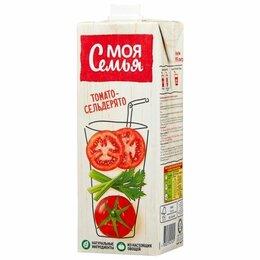 Семена - Нектар Моя Семья томатный с сельдереем 0,95 л, 0