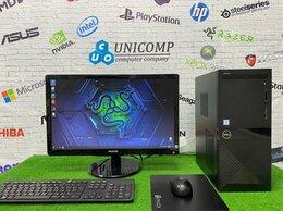Настольные компьютеры - Игровой пк на i7 с монитором 22 дюйма Full HD, 0