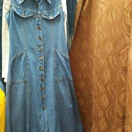 Платья - Платье джинсовые бренд GOLD Jeans, 0
