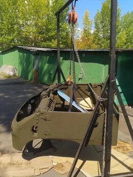 Оборудование для перемещения автомобиля - Кран гаражный с лебедкой разборный 1700-3200 мм, 0