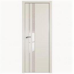 Межкомнатные двери - Межкомнатные двери Profil Doors 16E Магнолия Сатинат Стекло Lacobel Перламутр..., 0