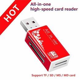 Устройства для чтения карт памяти - Карт-ридер l-pro c37 microsd розовый usb 2.0 #1410, 0