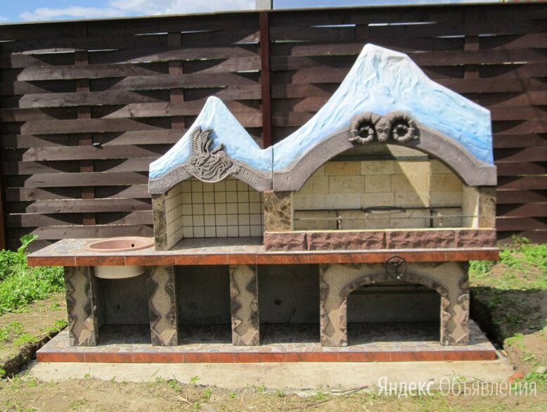 Печь барбекю №25 Гора Арарат по цене 105000₽ - Грили, мангалы, коптильни, фото 0