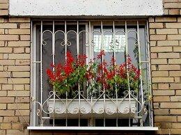 Готовые конструкции - Кованые и сварные решетки на окна в Орехово-Зуево, 0