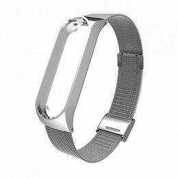 Чехлы - Браслет для Xiaomi Mi Band 5 (металл сетка,…, 0
