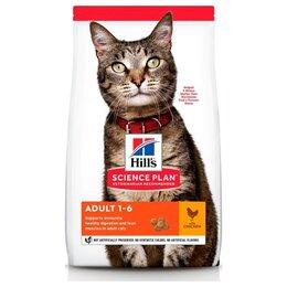 Корма  - Hill's Science Plan Feline Adult Chicken 15 кг…, 0
