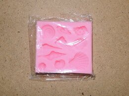 Аксессуары для готовки - Форма силиконовая для конфет ракушки новая, 0