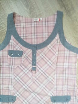 Блузки и кофточки - Туника (большой размер)хлопок, 0