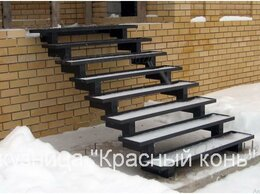 Лестницы и элементы лестниц - Металлическое крыльцо для дома - изготовим по…, 0