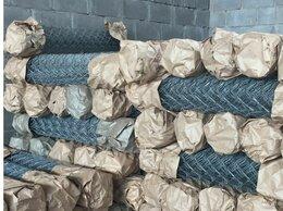 Заборчики, сетки и бордюрные ленты - Сетка рабица оцинкованная Кубинка, 0