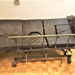 Устройства, приборы и аксессуары для здоровья - Кровать для лежачих больных медицинская под дерево, 0
