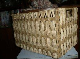 Корзины, коробки и контейнеры - Корзина плетеная.Высота 22 см.Ширина 35 см., 0