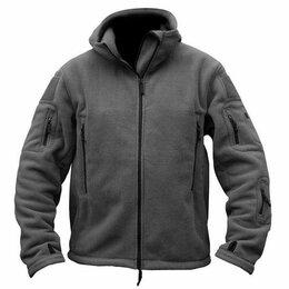 Одежда и обувь - Куртка флисовая с капюшоном. Р 54-56., 0