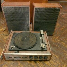 Проигрыватели виниловых дисков - Проигрыватель пластинок Аккорд 201 стерео, 0