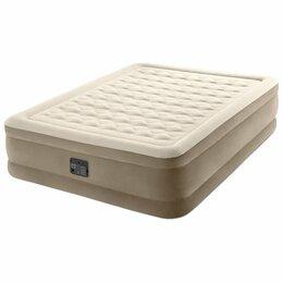 Надувная мебель - Новый Матрас-Кровать надувная 152х203х46см с насос, 0