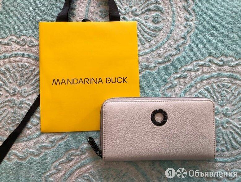 Mandarina Duck Италия белый кожаный кошелек Новый по цене 4500₽ - Кошельки, фото 0