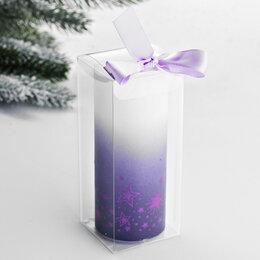 Интерьерная подсветка - Электронная свеча 'Звезды', 5 х 12,5 см, 0