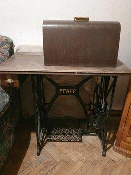 Швейные машины - Швейная машинка ножная  Pfaff в рабочем состоянии., 0