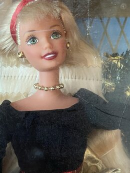 Куклы и пупсы - Барби/ Barbie Holiday sisters Новогодний сет 1998, 0