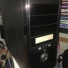 Настольные компьютеры - Системный блок 2ядра\2гб\160\DVD-RW, 0