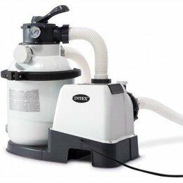 Фильтры, насосы и хлоргенераторы - 26644 Интекс песочный фильтрующий насос 4500 л/ч., 0