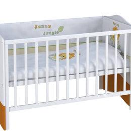 Кроватки - КРОВАТКА-ТРАНСФОРМЕР POLINI BASIC ДЖУНГЛИ 1400Х700, 0