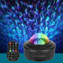 Ночники и декоративные светильники - Музыкальный проектор звездное небо, 0