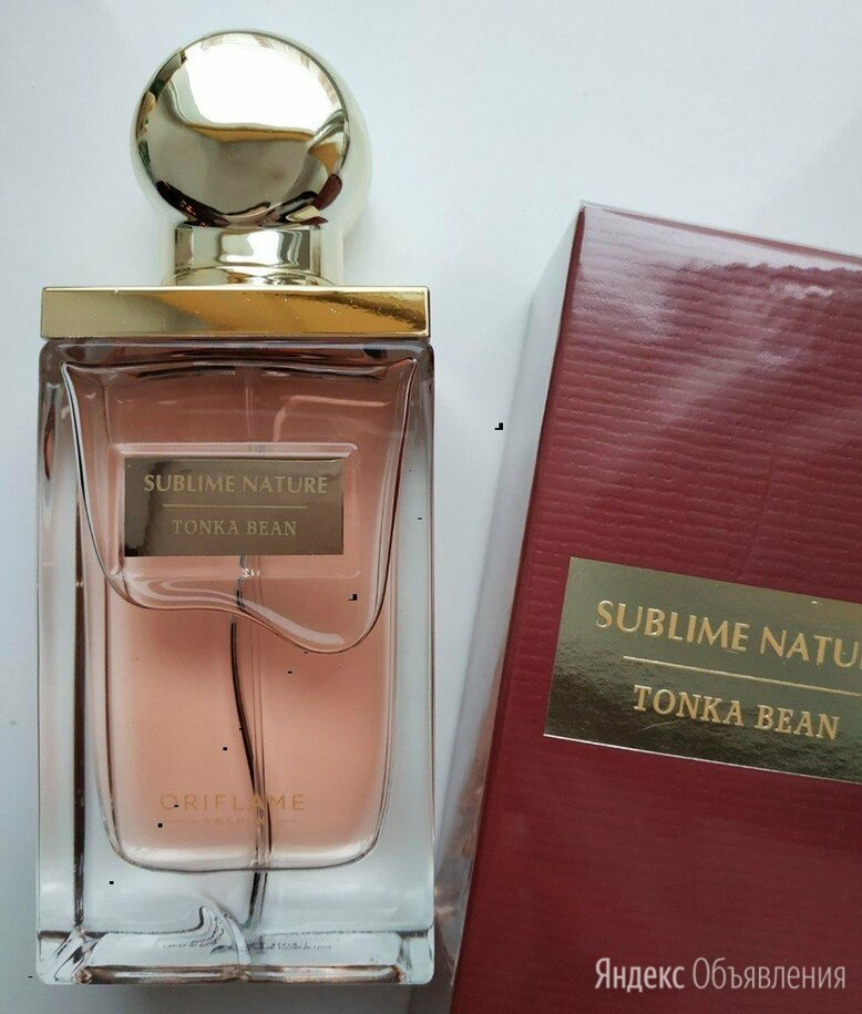 Sublime Nature Tonka Bean Oriflame орифлейм орифлэйм по цене 2500₽ - Парфюмерия, фото 0
