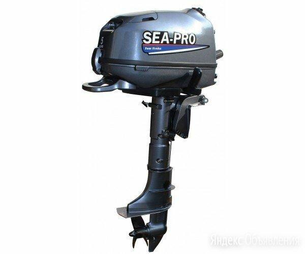 Лодочный мотор Sea Pro (Си про) F 6 S по цене 48500₽ - Моторные лодки и катера, фото 0