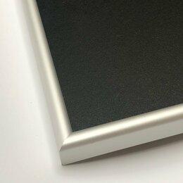 Доски - Новые меловые доски в алюминиевой рамке 30х60 см…, 0
