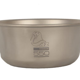 Тарелки - Титановая пиала NZ Ti Bowl 550 мл, 0