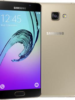Мобильные телефоны - Samsung Galaxy A5 (2016) SM-A510F Золотой, 0