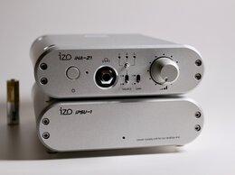 Цифро-аналоговые преобразователи - ЦАП + усилитель для наушников IZO iHA-21, Япония, 0