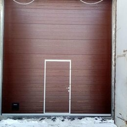Заборы и ворота - Гаражные и промышленные ворота, 0