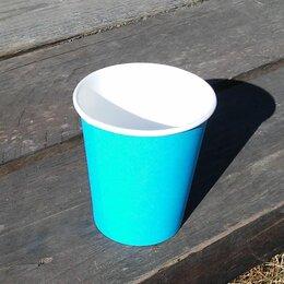 Одноразовая посуда - Стакан бумажный 250 мл. для горячего, 0