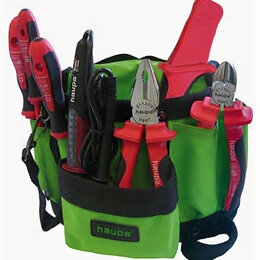 Наборы инструментов и оснастки - Набор инструментов электромонтажника Tool belt…, 0