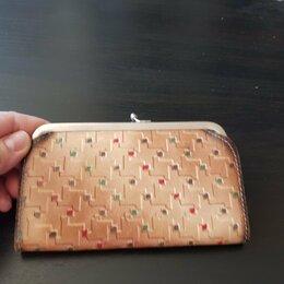 Кошельки - Винтажный кожаный кошелек, 0