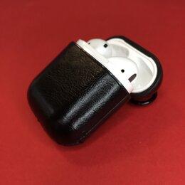 Аксессуары для наушников и гарнитур - Кожаный чехол для AirPods, 0