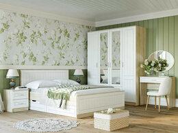 Кровати - Спальня Оливия комплектация 1 Дуб Сонома/белое…, 0