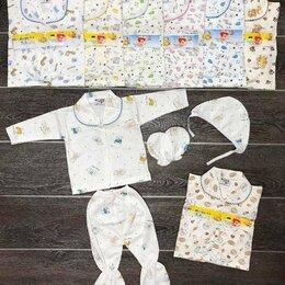 Белье - Комплект для новорожденных 4 предмета, 0